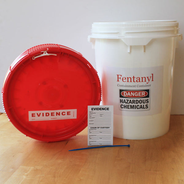 Chemical and Drug Containment and Transport Container 5 Gallon Bucket