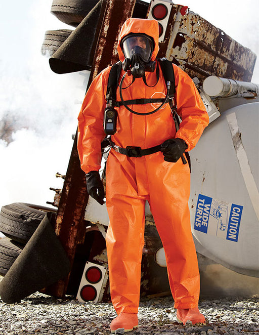 Tychem Triple Hazard Protection Chemical Resistant Suit - Hazmat Suit - Mountainside Medical Equipment
