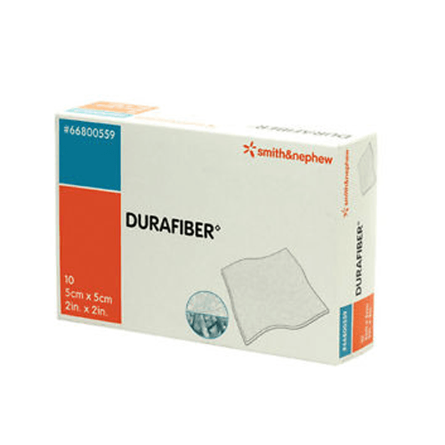 Buy Durafiber Absorbent Gelling Fiber Dressings 4 x 4, 10/Box online used to treat Wound Care - Medical Conditions