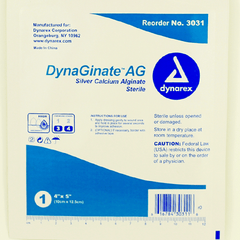 DynaGinate AG Silver Calcium Dressings for Wound Care by Dynarex | Medical Supplies