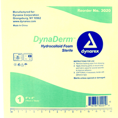 DynaDerm Hydrocolloid Dressings, Sterile for Wound Care by Dynarex | Medical Supplies