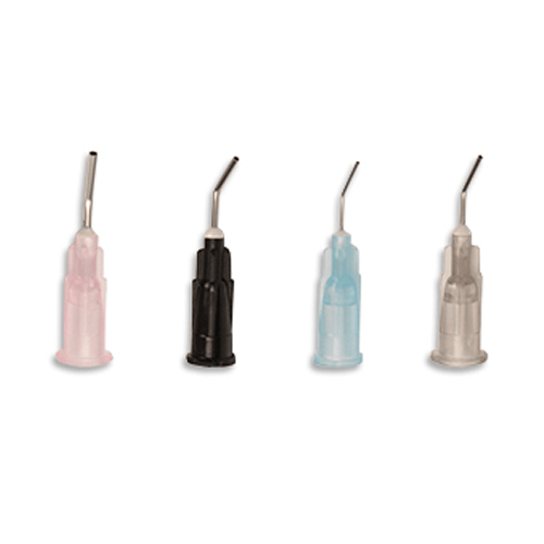 Dental Pre-Bent Flow Tips, 100/Bag