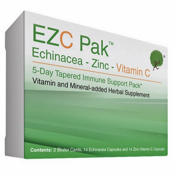 Buy EZC Pak 5-Day Immune Support Pack with Echinacea, Zinc and Vitamin C online used to treat Natural Immune Suppport Supplement - Medical Conditions
