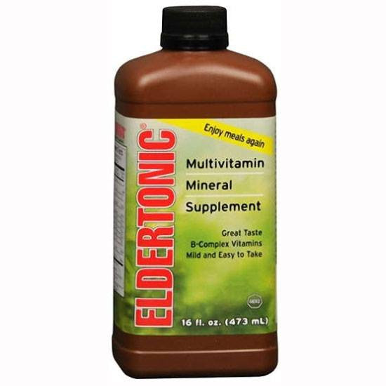 Buy Eldertonic Multivitamin with Minerals Liquid Supplement online used to treat Liquid Multivitamin - Medical Conditions