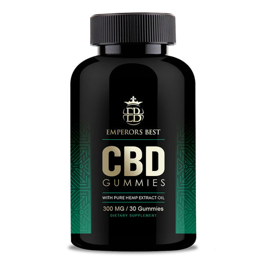 CBD Gummies 300mg with Pure Hemp Extract Oil, 30 Count