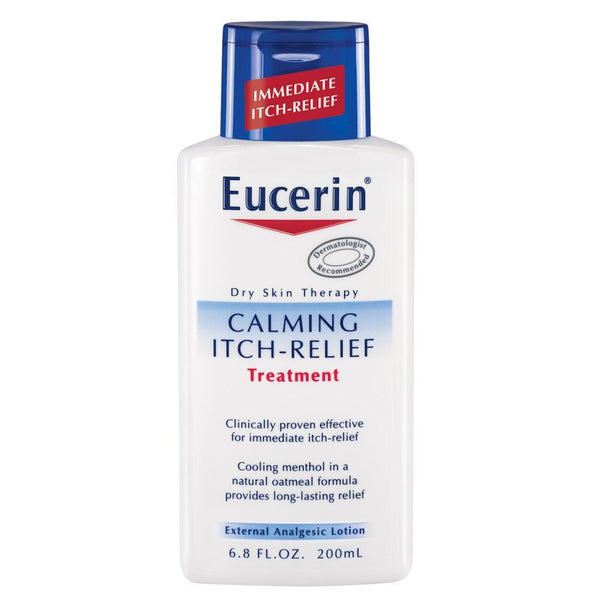 Eucerin Calming Itch Treatment 6.8 oz