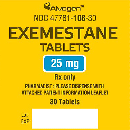 Buy Exemestane Tablets 25 mg online used to treat Breast Cancer Medication - Medical Conditions
