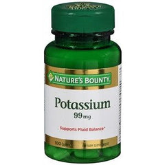 Buy Natures Bounty Potassium Gluconate 99mg Caplets online used to treat Vitamins, Minerals & Supplements - Medical Conditions