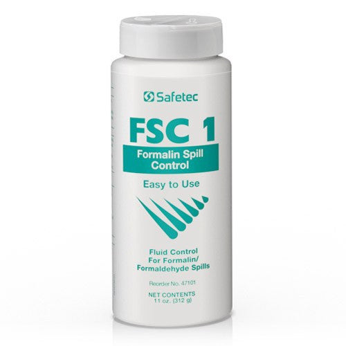 FSC 1 Formalin Spill Containment Control - Fluid Control Solidifiers - Mountainside Medical Equipment