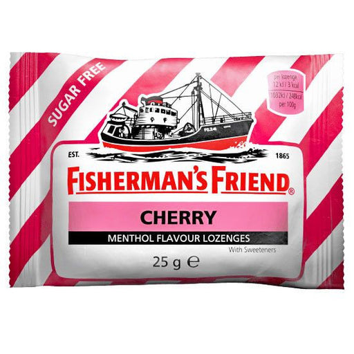 Buy Fisherman's Friend Sugar Free Cough Lozenges, Cherry online used to treat Cough Drops - Medical Conditions
