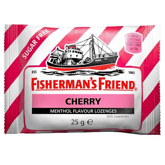 Fisherman's Friend Sugar Free Cough Lozenges, Cherry