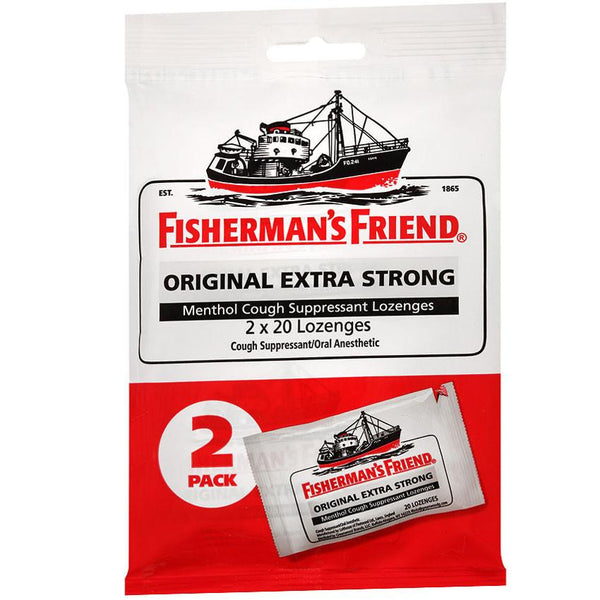 Fishersmans Friend Original Extra Strong Menthol Cough Suppressant Lozenges