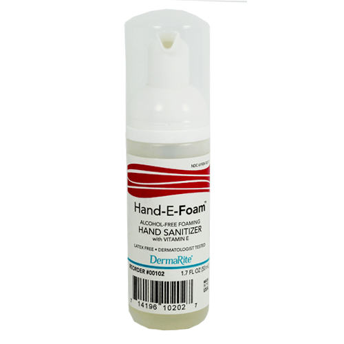 Buy Hand E Foam Alcohol Free Instant Hand Sanitizers 1.7 oz Bottle online used to treat Hand Sanitizers - Medical Conditions