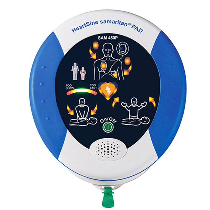 Buy HeartSine Samaritan PAD 450P Automated External Defibrillator online used to treat Defibrillator - Medical Conditions