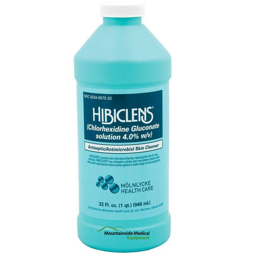 Hibiclens Chlorhexidine Gluconate Skin Antimicrobial 32 oz - Antimicrobial Skin Cleanser - Mountainside Medical Equipment