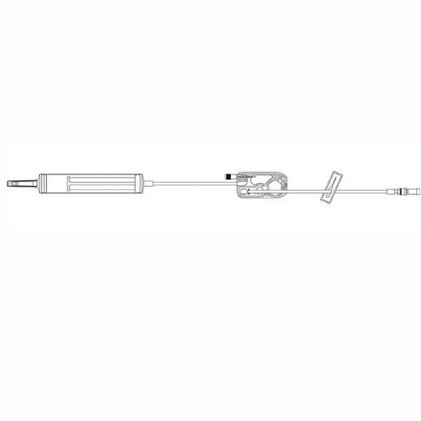 LifeShield Blood Administration PlumSet™ with Piercing Pin, 200 Micron Blood Filter Assembly