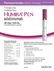 Buy Humira (adalimumab) Psoriasis Pen 40mg/0.8mL online used to treat Psoriasis Treatment - Medical Conditions