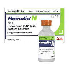 Buy Humulin-N Insulin Human Injection U-100 online used to treat Insulin Human Injection - Medical Conditions
