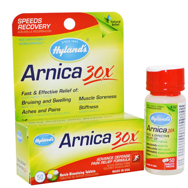 Hyland's Arnica Montana 30X Pain Relief Tablets 50/Bottle