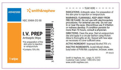 Buy IV Prep Antiseptic Wipes 50/box by Smith & Nephew | Home Medical Supplies Online