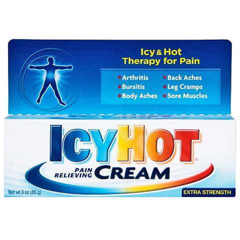 Icy Hot Extra Strength Pain Relieving Cream 3 oz