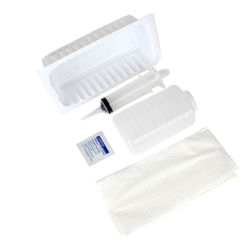 Bladder / Wound Irrigation Tray with Piston Syringe - Irrigation Kit - Mountainside Medical Equipment