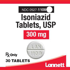 Isoniazid Tablets 300 mg by Lannett