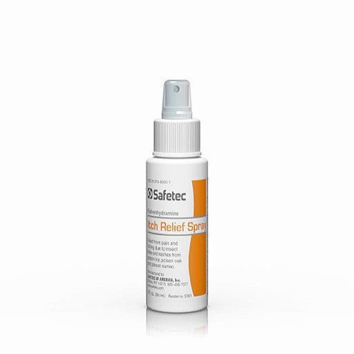 Diphenhydramine Itching & Pain Relief Topical Spray - Itching Relief Spray - Mountainside Medical Equipment
