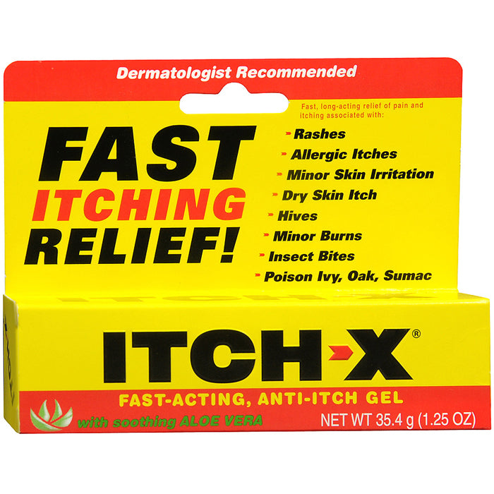 Buy Itch-X Anti-Itch Fast-Acting Itch Relief Gel online used to treat Anti-Itch Relief Gel - Medical Conditions