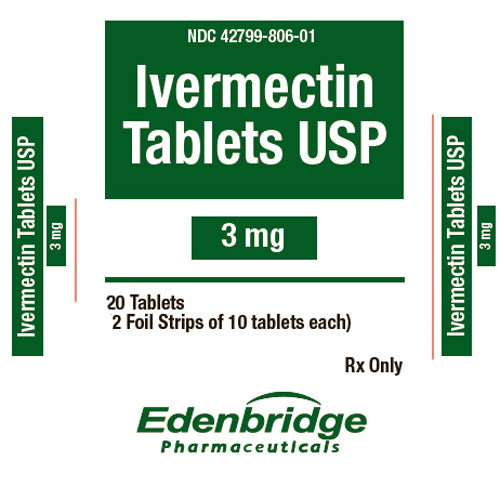 Ivermectin 3 mg Tablets