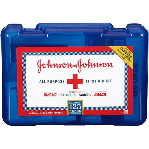 Buy Emergency First Aid Kit, 125 Pieces by Johnson & Johnson wholesale bulk | Gauze, Tapes & Bandages