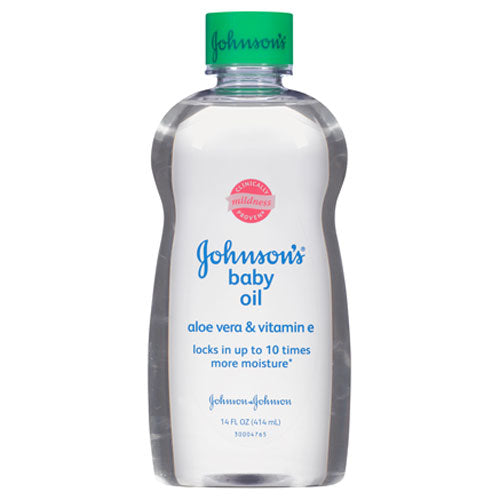 Johnson's Baby Oil with Aloe Vera & Vitamin E