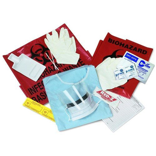 Biobloc Blood and Body Fluid Spill Kit (6/Case) for Spill Kits by Covidien | Medical Supplies