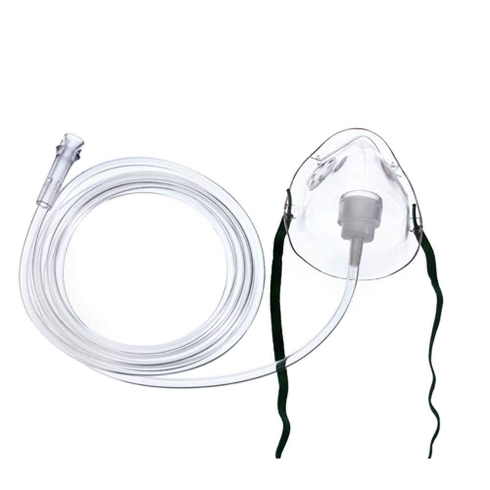 Kids Pediatric Oxygen Mask with 7 Foot Tubing - Oxygen Masks - Mountainside Medical Equipment