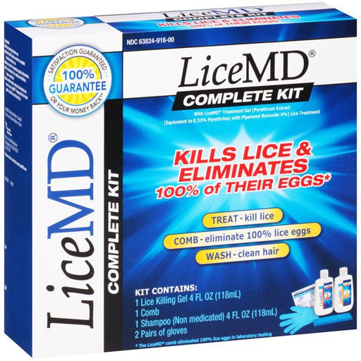 Buy Lice MD Lice and Egg Treatment Kit by DOT Unilever | Lice Treatment Products