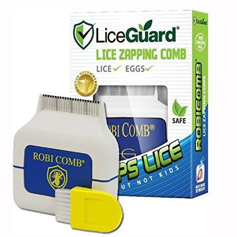 LiceGuard Electronic Lice Comb, ZAP Themn on Contact