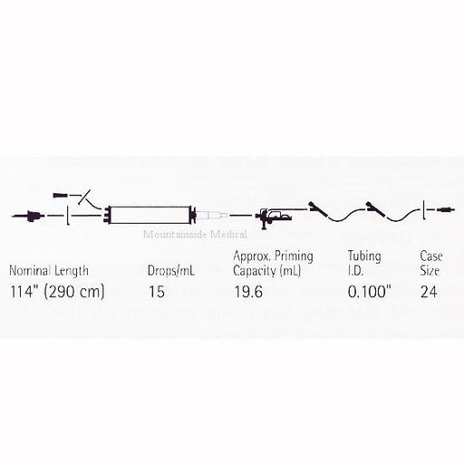 Buy LifeShield PlumSet SoluSet Iv Set 150 ml Burette Port online used to treat IV Administration Sets - Medical Conditions