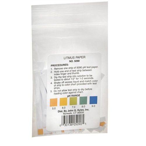 Litmus Ph Testing Paper With Color Chart