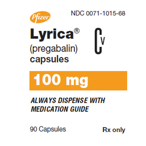 Buy Lyrica Capsules 100 mg Nerve Pain Medication online used to treat Nerve Pain Medication - Medical Conditions