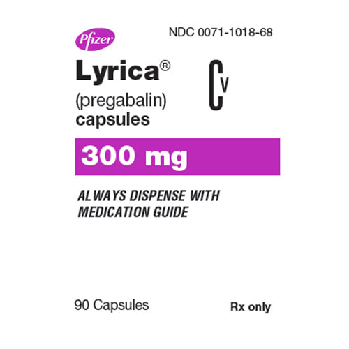 Buy Lyrica Capsules 300 mg Nerve Pain Medication online used to treat Nerve Pain Medication - Medical Conditions