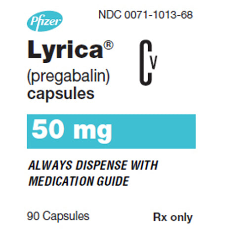 Buy Lyrica Capsules 50 mg Nerve Pain Medication online used to treat Nerve Pain Medication - Medical Conditions