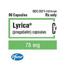 Buy Lyrica Capsules 75 mg Nerve Pain Medication online used to treat Nerve Pain Medication - Medical Conditions