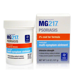 Buy MG217 Medicated Psoriasis Multi-Symptom Coal Tar Ointment online used to treat Psoriasis Treatment Ointment - Medical Conditions