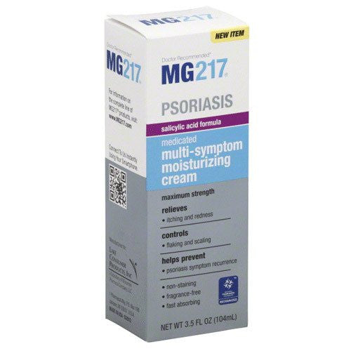 Buy MG217 Psoriasis Medicated Multi-Symptom Cream by Wisconsin Pharmacal Company wholesale bulk | Eczema