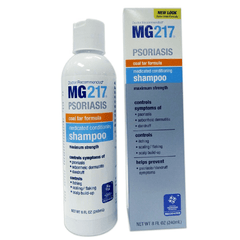 Buy MG217 Medicated Coal Tar Shampoo for Psoriasis used for Eczema by Wisconsin Pharmacal Company
