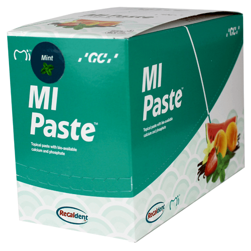 10-Pack MI Paste Mint Flavor with Calcium and Phosphate - Mi Paste - Mountainside Medical Equipment
