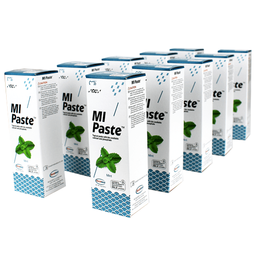 10-Pack MI Paste Mint Flavor with Calcium and Phosphate