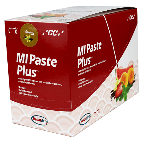 MI Paste Plus Vanilla Flavor (10 Pack) - MI Paste - Mountainside Medical Equipment