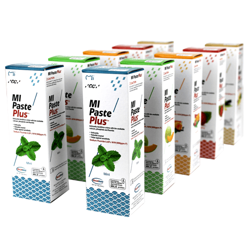 Buy 10-Pack MI Paste Plus Variety Pack, 5 Flavors by GC America wholesale bulk | MI Paste