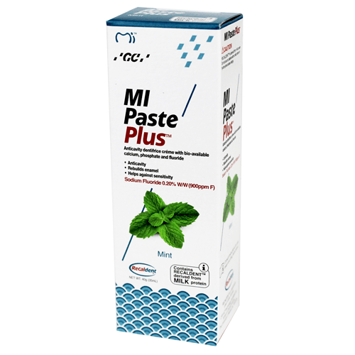 Buy MI Paste Plus with Recaldent 40 Gram Mint used for MI Paste by GC America